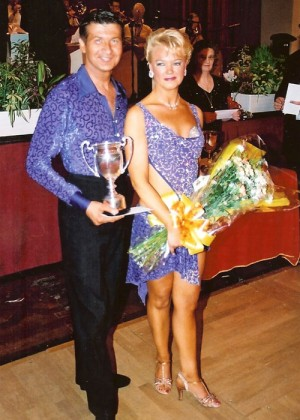 Open British Senior Latin Champions